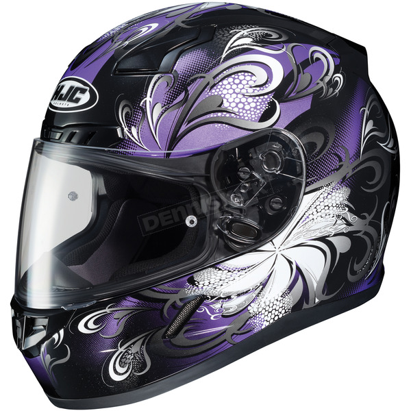 HJC Purple/Black CL-17 Cosmos MC-11 Helmet - 854-112