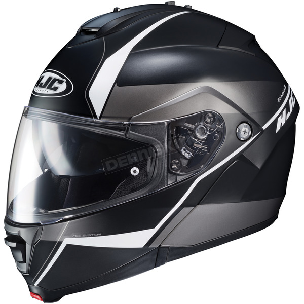 HJC Semi-Flat Black/White IS-Max2 Mine MC-5SF Helmet - 990-758