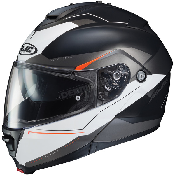 HJC Semi-Flat Black/White IS-Max2 Magma MC-5SF Helmet - 992-753