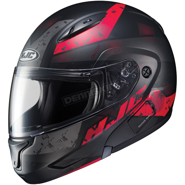 HJC Semi-Flat Black/Red CL-MAXBT 2 Friction MC-1SF Helmet - 996-714