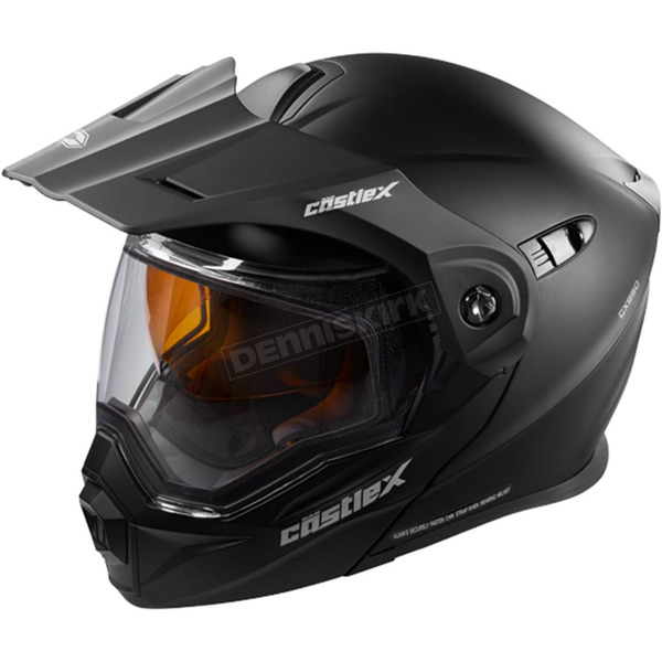 Castle X Matte Black EXO-CX950 Snow Helmet - 45-19089T