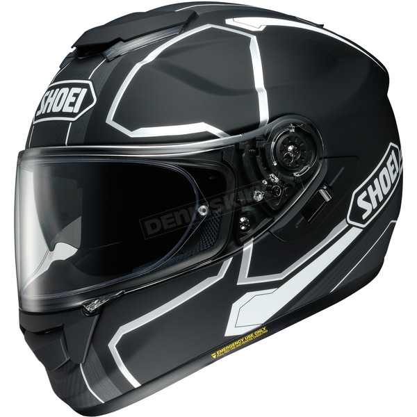 Shoei Helmets Matte Black/Gray/White GT-Air Pendulum TC-5 Helmet - 0118-2005-08