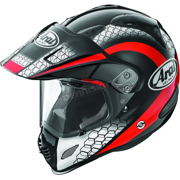 Arai Helmets Black/Red/White Multi-Colored XD4 Mesh Helmet - 807383
