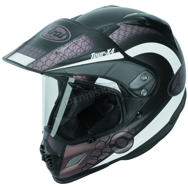 Arai Helmets Frost Black/White/Sand Multi-Colored XD4 Mesh Helmet - 807411