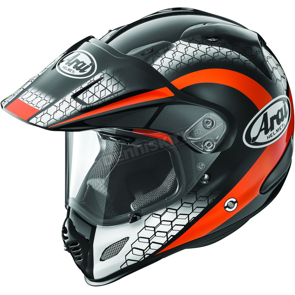 Arai Helmets Black/Orange/White Multi-Colored XD4 Mesh Helmet - 807425
