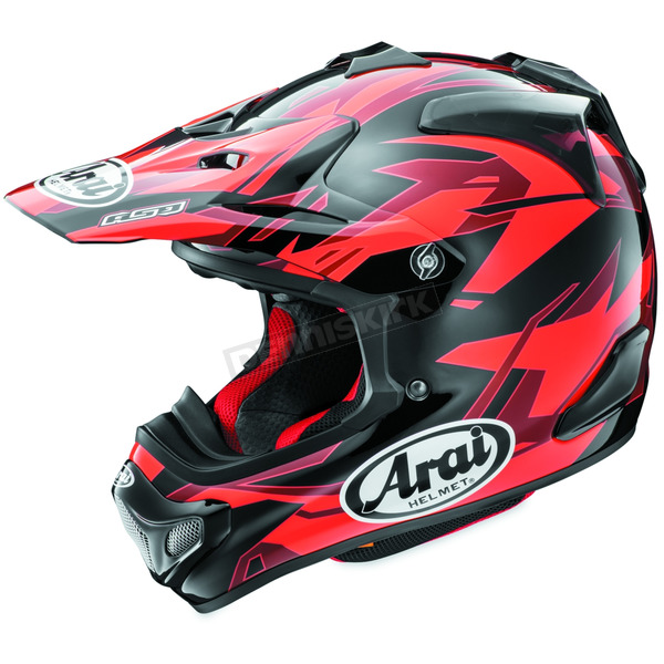 Arai Helmets Red/Black/Dark Red VX-4 Pro 4 Dazzle Helmet - 807441
