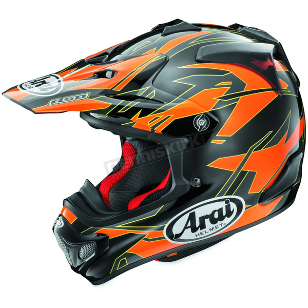 Arai Helmets Orange/Black/Yellow VX-Pro 4 Dazzle Helmet - 807454