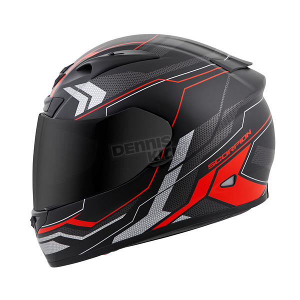 Scorpion Red EXO-R710 Transect Helmet - 71-4405
