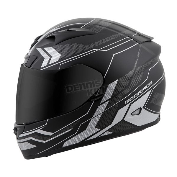 Scorpion Silver EXO-R710 Transect Helmet - 71-4417