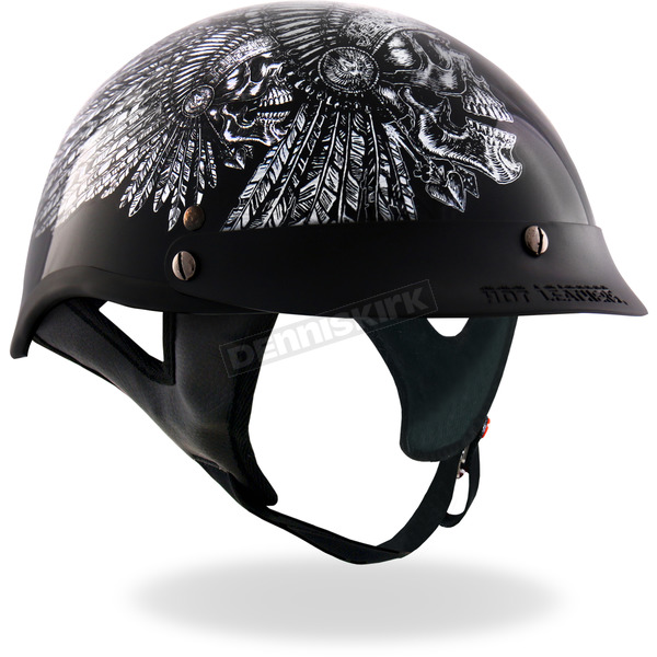 Hot Leathers Indian Headbutt Helmet - HLD1032M