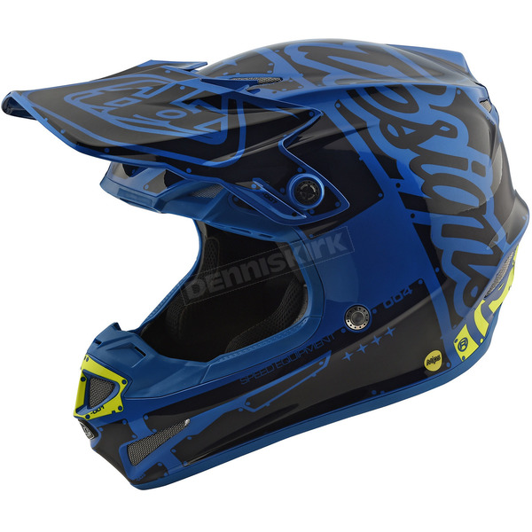 Troy Lee Designs Blue Factory SE4 Helmet - 109008305