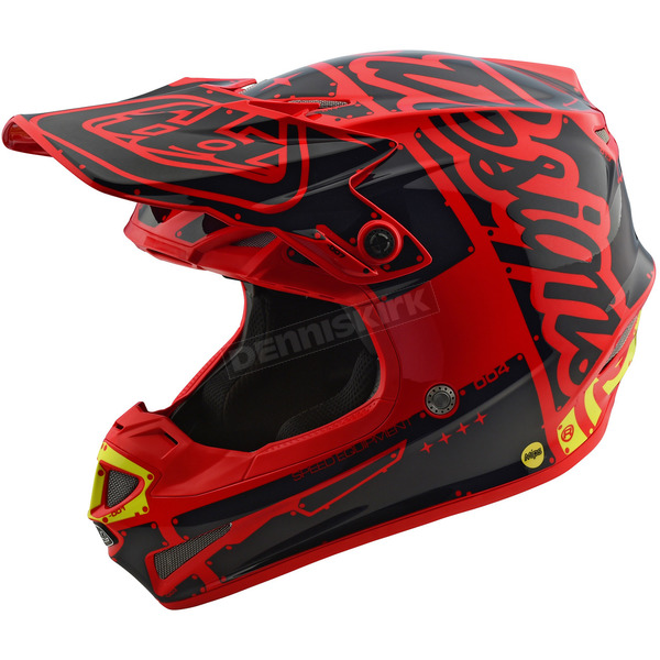 Troy Lee Designs Red Factory SE4 Helmet - 109008403