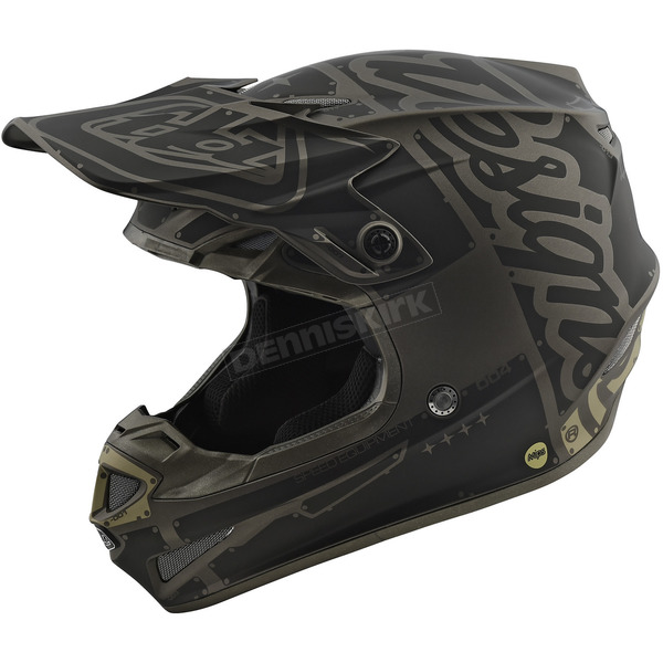Troy Lee Designs Gray/Black Factory SE4 Helmet - 109008902