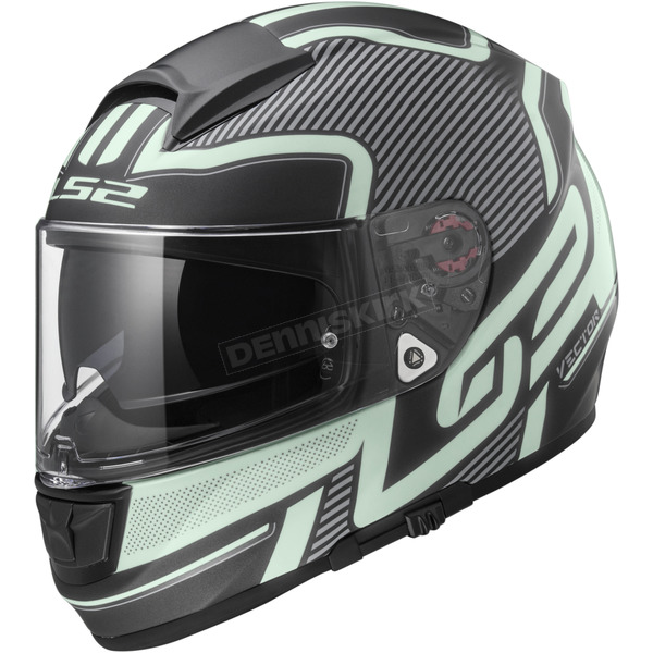 LS2 Black/Glow Citation Orion Helmet - 397-6406
