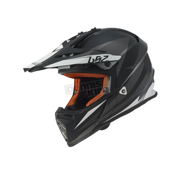 LS2 Youth Black/Gray Fast Mini Helmet - 437-5022