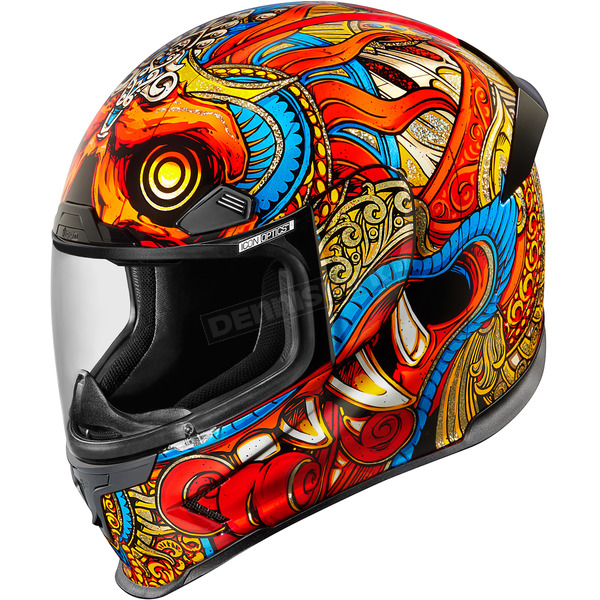 Icon Red Airframe Pro Barong Helmet  - 0101-10154
