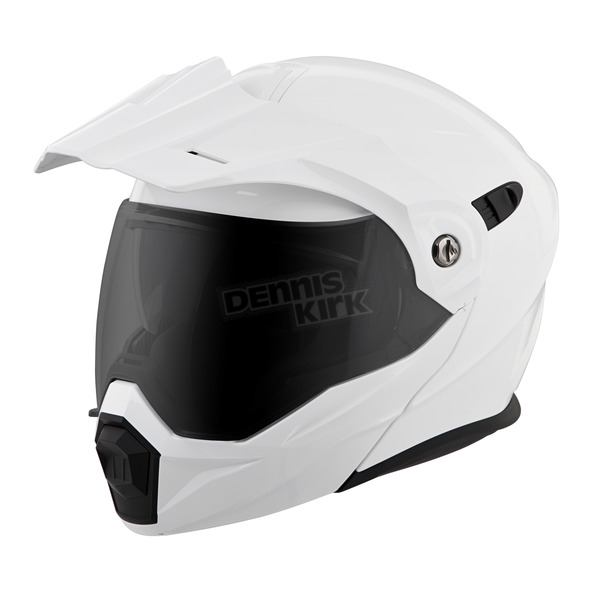 Scorpion White EXO-AT950 Helmet - 95-0053