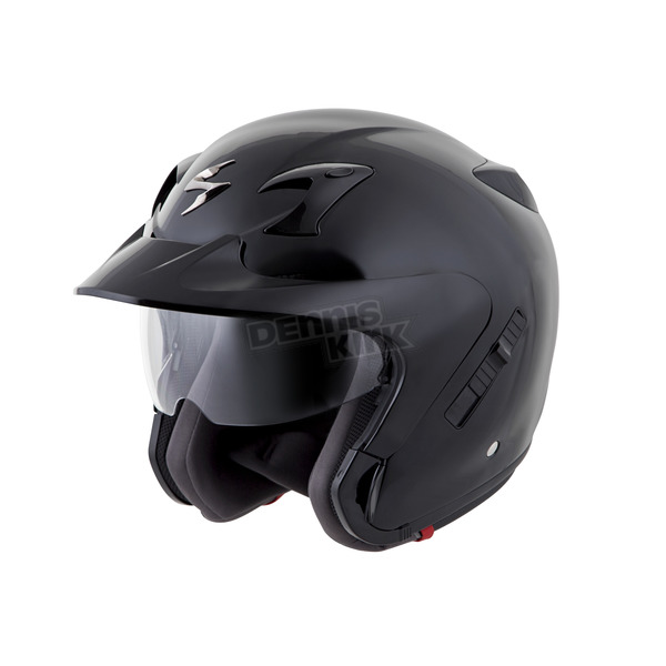 Scorpion Black EXO-CT220 Helmet - 22-0035