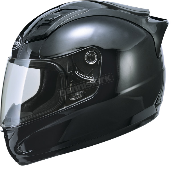 GMax Gloss Black GM69 Helmet - G7690028