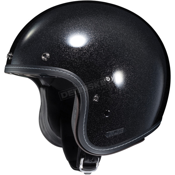 HJC Metal Flake Black IS-5 Helmet - 432-645