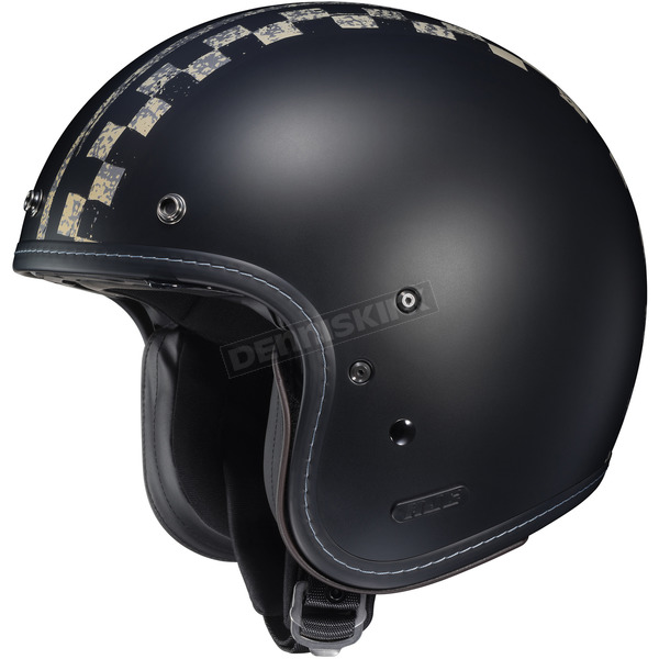 HJC Semi-Flat Black IS-5 Burnout MC-5SF Helmet - 434-755