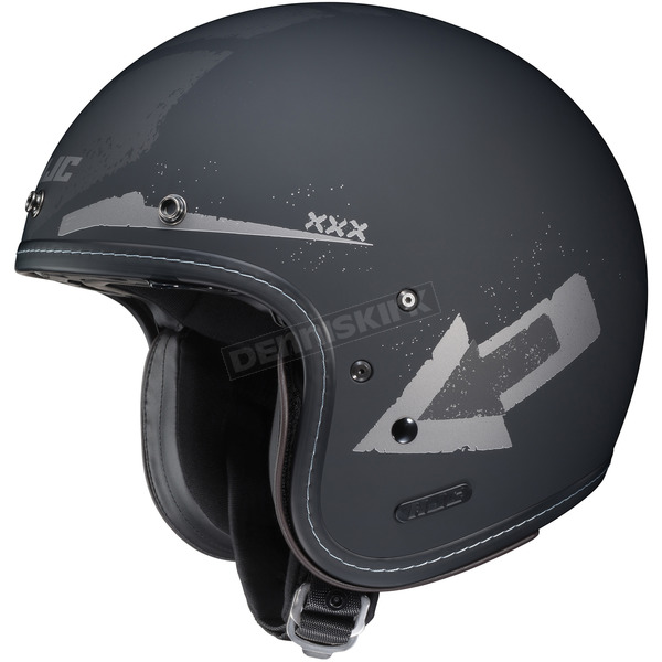 HJC Flat Black/Silver IS-5 Arrow MC-5F Helmet - 436-855