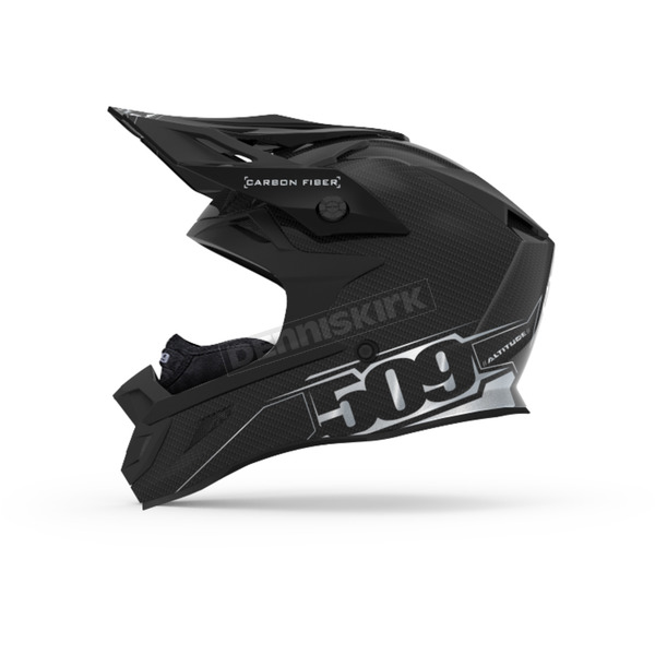 509 Gloss Black Altitude Carbon Fiber Helmet w/Fidlock Technology - 509-HEL-ACG8-MD