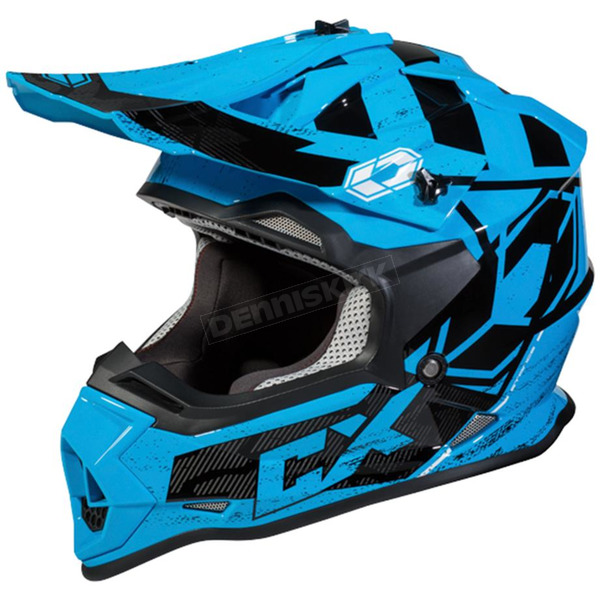 Castle X Blue Mode MX Stance Helmet - 35-2029