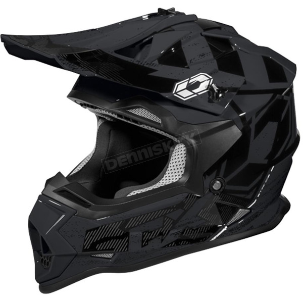 Castle X Black Mode MX Stance Helmet - 35-2059T
