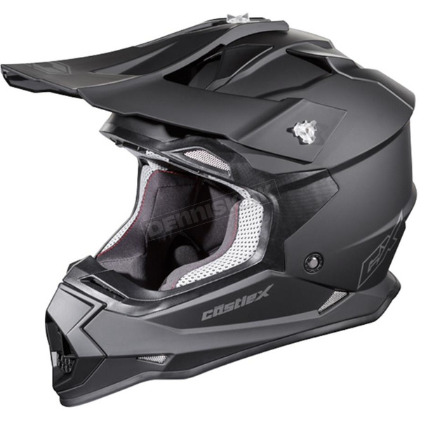 Castle X Matte Black Mode MX Helmet - 35-1801