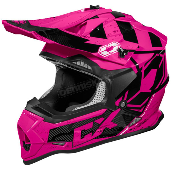 Castle X Pink Mode MX Stance Helmet - 35-2086