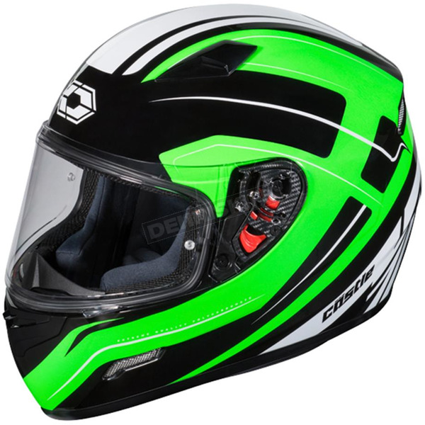Castle X Green Mugello Maker Helmet - 36-0344