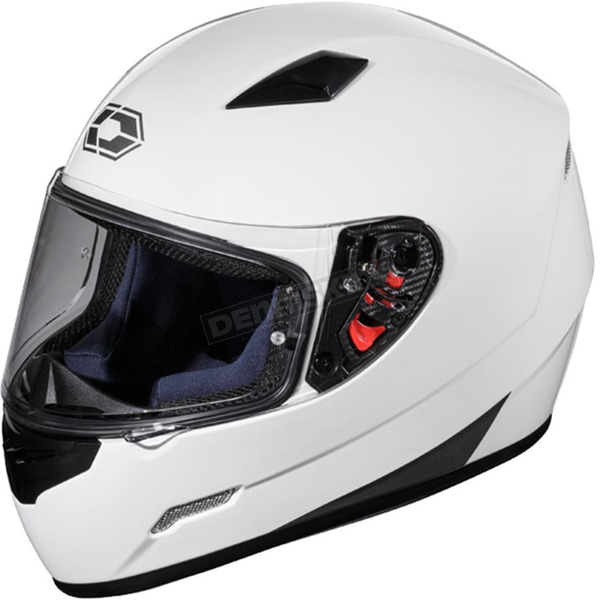 Castle X White Mugello Helmet - 36-0124
