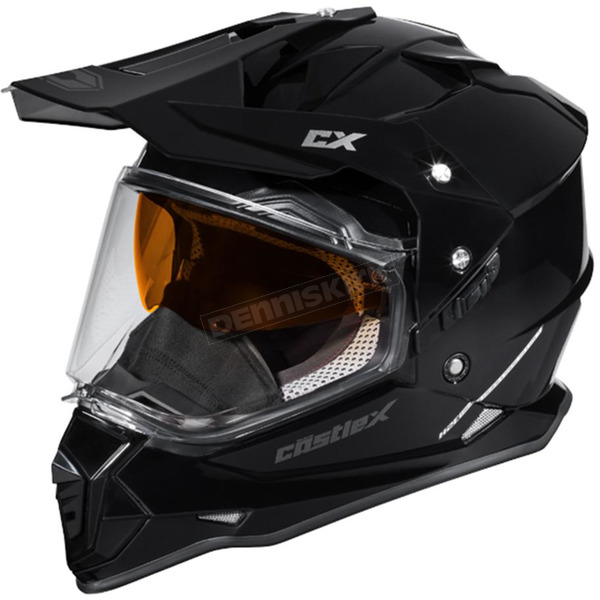 Castle X Black Mode Dual-Sport SV Snow Helmet - 35-13506