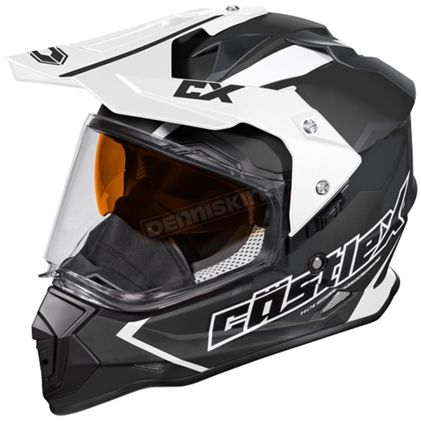 Castle X Black Mode Dual-Sport SV Team Snow Helmet - 35-13759