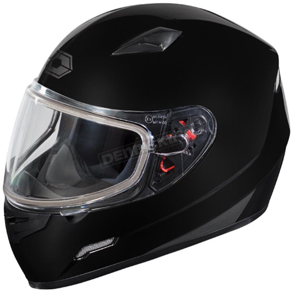 Castle X Black Mugello Snow Helmet - 36-10104