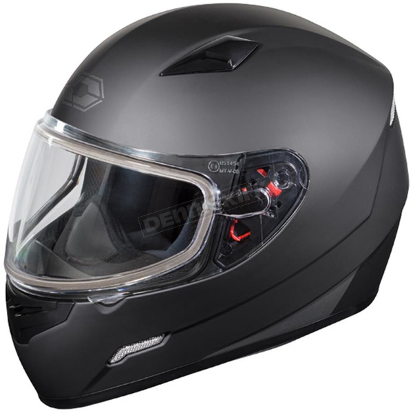 Castle X Matte Black Mugello Snow Helmet - 36-10182