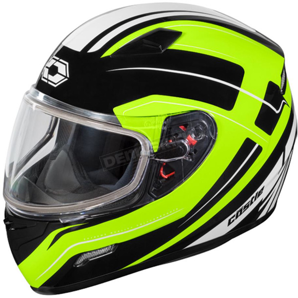 Castle X Hi-Vis Mugello Maker Snow Helmet - 36-10338