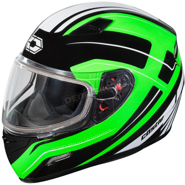 Castle X Green Mugello Maker Snow Helmet - 36-10346