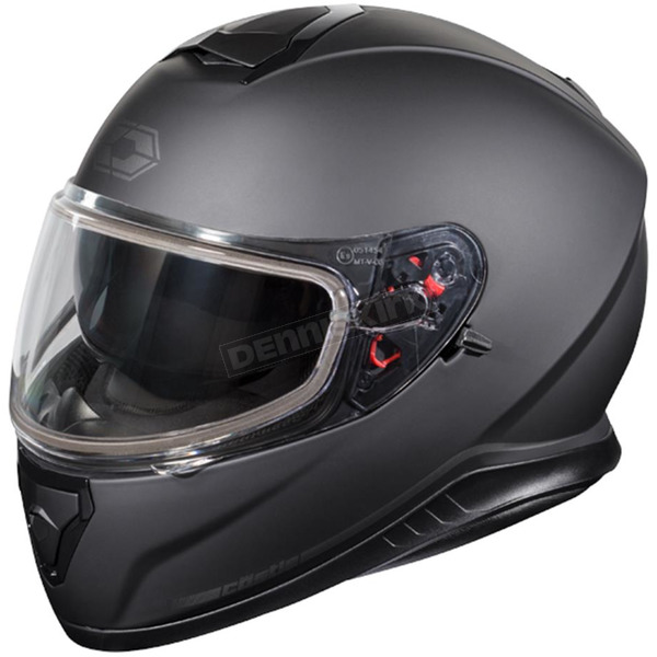 Castle X Matte Black Thunder 3 SV Snow Helmet - 36-11288