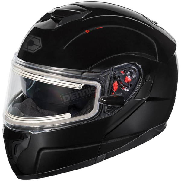 Castle X Black Atom SV  Modular Snow Helmet w/Electric Shield - 36-23009T