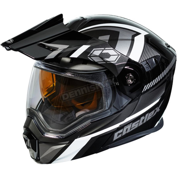 Castle X Black/Gray EXO-CX950 Slash Snow Helmet - 45-19254