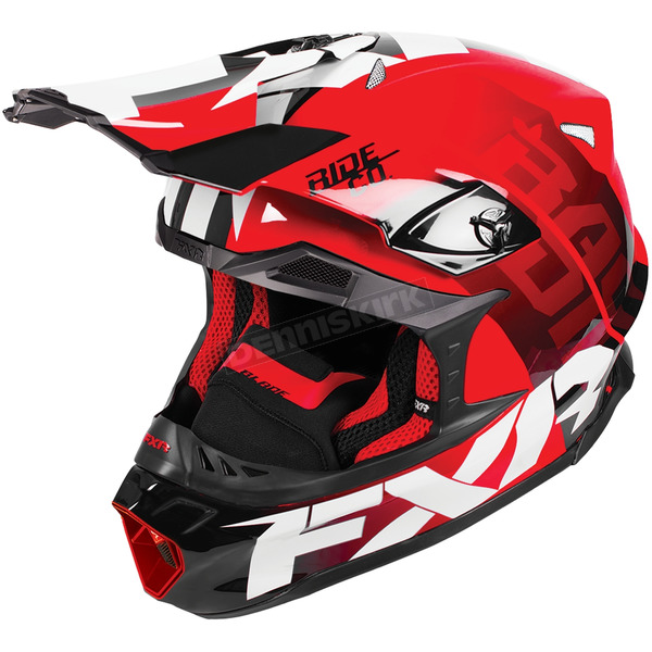 FXR Racing Red Blade Race Division Helmet - 180605-2000-16