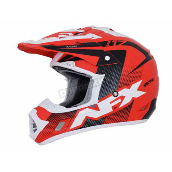 AFX Red/Black/White FX-17 Holeshot Helmet - 0110-5298