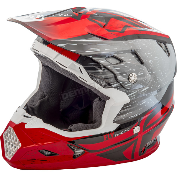 Fly Racing Youth Red/Black Toxin MIPS Resin Helmet - 73-8522YM