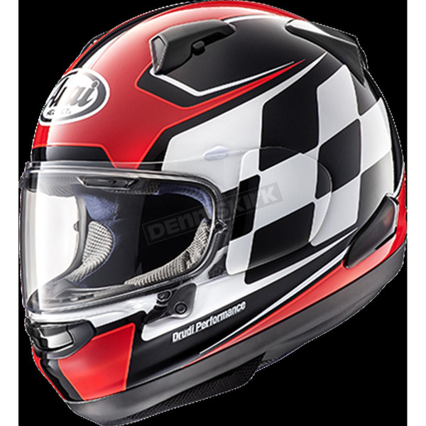 Arai Helmets Red Signet-X Finish Helmet - 806742