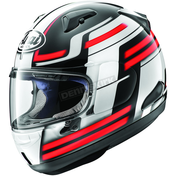 Arai Helmets Red Quantum-X Competition Helmet - 806932
