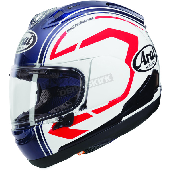 Arai Helmets White/Blue Corsair-X Statement Helmet - 807263