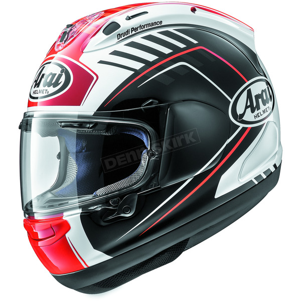 Arai Helmets Black/Red Corsair-X Rea Helmet - 807271