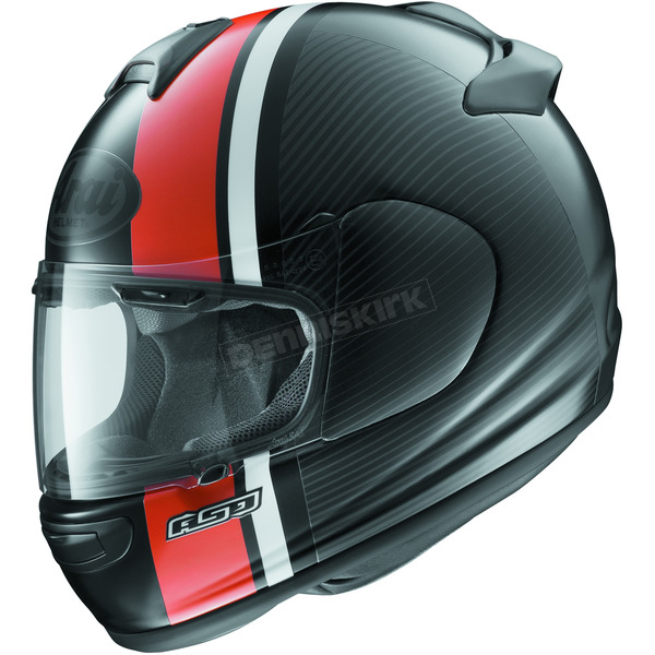 Arai Helmets Black/Orange Vector 2 Twist Helmet - 807331